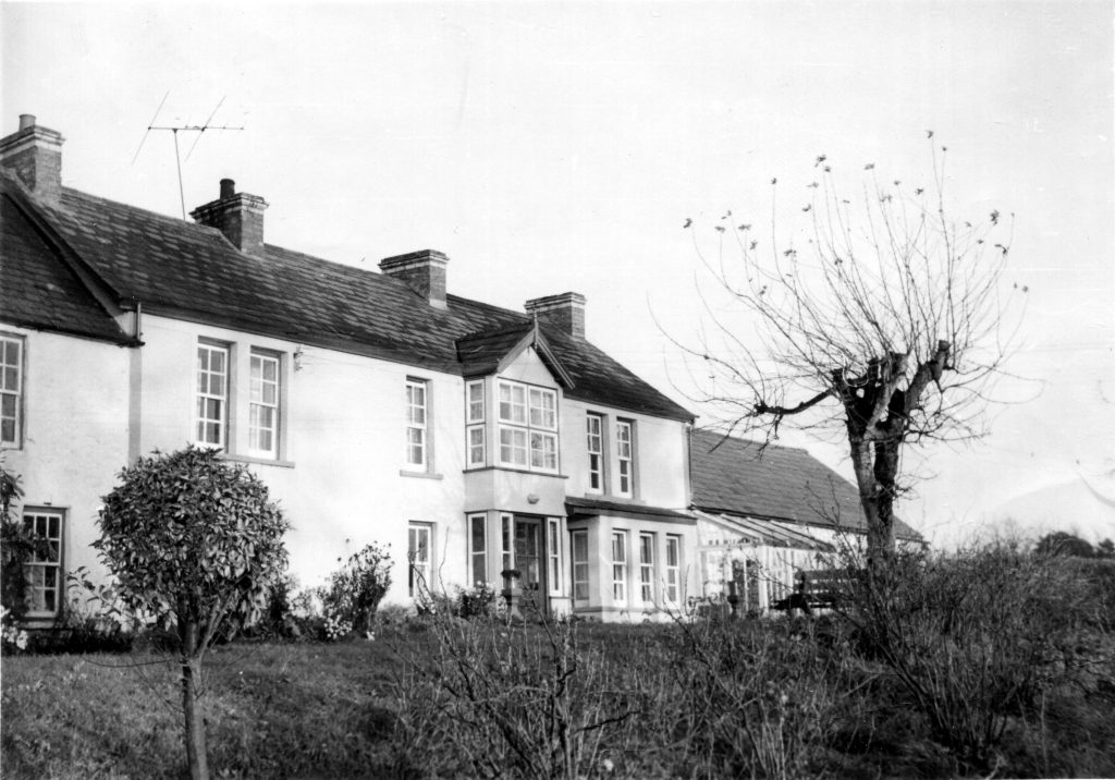 The Nicholl home at Laurel Hill, Gillistown, Co. Antrim, 1966