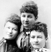 Nellie, Mary and Bridget Herlihy, 1890